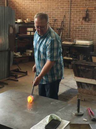 Glass Blowing Demo 3