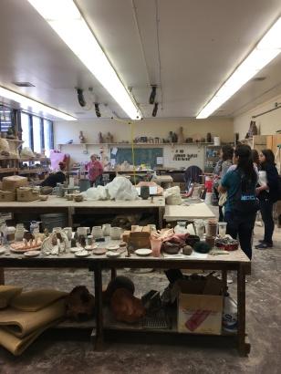 GSWS Ceramics Room
